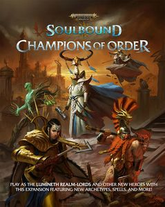 [Warhammer: Age Of Sigmar: RPG Rulebook: Soulbound: Champions Of Order (Product Image)]