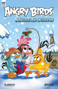[Angry Birds Comics Quarterly (Cover A Rodriques) (Product Image)]