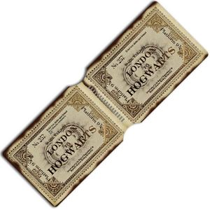[Harry Potter: Travel Pass Holder: Hogwarts Train Ticket (Product Image)]
