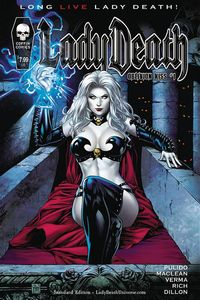 [Lady Death: Oblivion Kiss #1 (Standard Cover) (Product Image)]