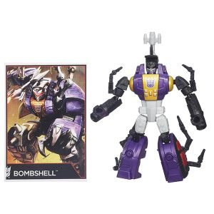 [Transformers: Generations Combiner Wars: Wave 6 Legends Action Figure: Bombshell (Product Image)]