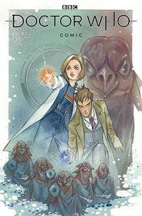 [The cover for Doctor Who Comics #1 (Cover A Momoko)]