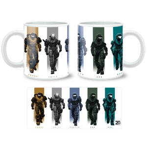 [Halo Reach: Anniversary Collection: Mug: Noble Team (Product Image)]