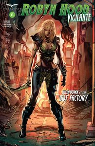 [Robyn Hood: Vigilante #6 (Cover A White) (Product Image)]