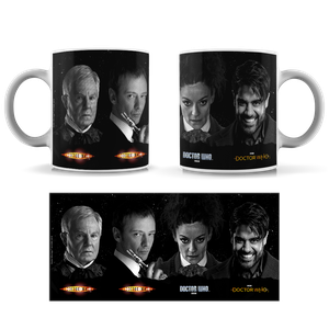 [Doctor Who: Anniversary Collection: Mug: The Next Four Masters (Product Image)]