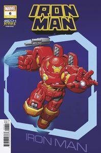 [Iron Man #6 (Brown Avenger Mech Strike Variant) (Product Image)]