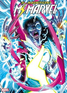 [Magnificent Ms Marvel #8 (2nd Printing Vecchio Variant) (Product Image)]