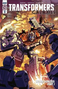 [Transformers: Galaxies #10 (Lawrence Variant) (Product Image)]