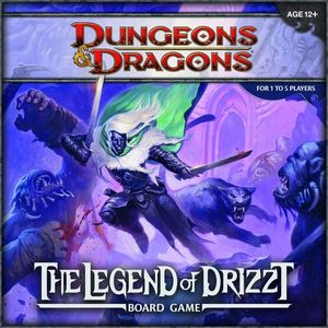 [Dungeons & Dragons: Boardgame: The Legend Of Drizzt (Product Image)]