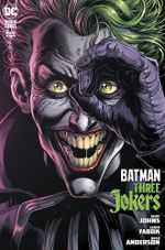[The latest cover for Batman: Three Jokers]