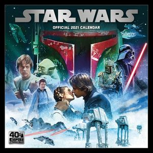 [Star Wars: Classic: 2021 Square Calendar (Product Image)]