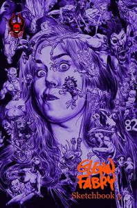 [Glenn Fabry Sketchbook: Volume 3 (Color Remarked Edition) (Product Image)]