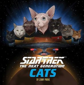 [Star Trek: The Next Generation Cats (Hardcover) (Product Image)]