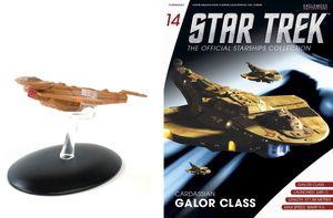 [Star Trek: Starships Figure Collection Magazine #14 Galor (Product Image)]