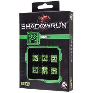 [Q-Workshop: Shadowrun: Dice Set: Decker (D6) (Product Image)]