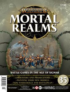[Warhammer: Age Of Sigmar: Mortal Realms #35 (Product Image)]