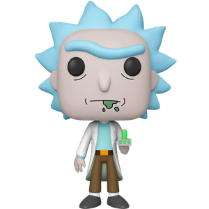 [Rick & Morty: 10 Inch Pop! Vinyl Figure: Rick With Portal Gun (Product Image)]