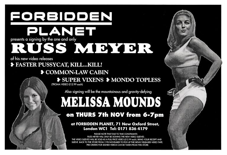 Russ Meyer and Melissa Mounds