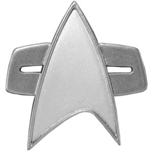 [Star Trek: Voyager: Replica: Combadge With Sound (Product Image)]