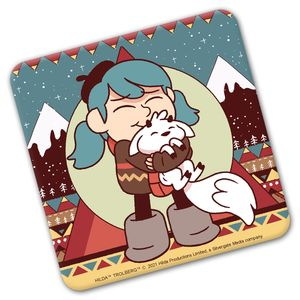 [Hilda: Coaster: Young Hilda & Twig (Product Image)]