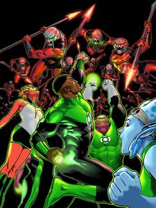 [Green Lantern Corps: The Lost Army: Volume 1 (Product Image)]