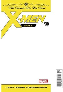 [X-Men: Gold #30 (Jsc Classified Variant) (Product Image)]