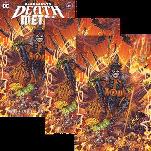 [Dark Nights: Death Metal #6 (Jonboy Meyers Sword, Virgin Skull & Trident Variant Set) (Product Image)]