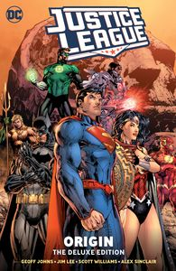 [Justice League: Origin (Deluxe Edition Hardcover) (Product Image)]
