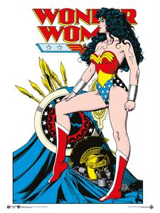 [DC: Giclee Print: Wonder Woman By Brian Bolland (Signed) (Product Image)]