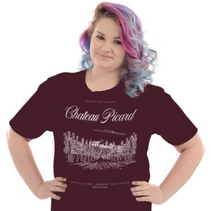[Star Trek: Picard: T-Shirt: Chateau Picard (Product Image)]