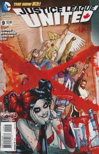 [Justice League United #9 (Harley Quinn Variant) (Product Image)]
