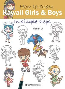 [How To Draw: Kawaii Girls & Boys: In Simple Steps (Product Image)]