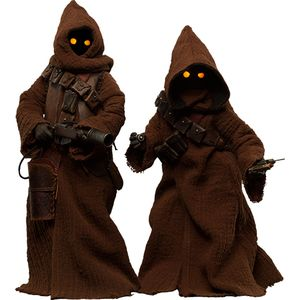 [Star Wars: Deluxe Action Figure Set: Jawas (Product Image)]