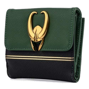 [Loki: Loungefly Hardware Wallet With Zip Coin Pouch (Product Image)]