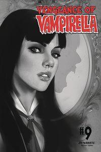 [Vengeance Of Vampirella #9 (Oliver Black & White Variant) (Product Image)]