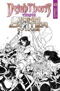 [Dejah Thoris Vs John Carter Of Mars #3 (Cover F Parillo Tinted Variant) (Product Image)]