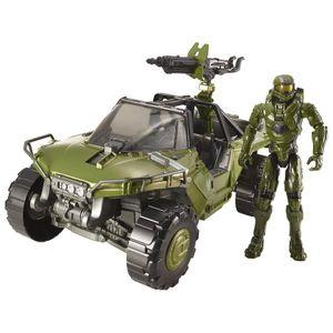 [Halo: Action Figure Set: Warthog Vehicle & Master Chief (Product Image)]
