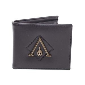 [Assassin's Creed: Odyssey: Premium Bi-Fold Wallet: Metal Logo Badge (Product Image)]
