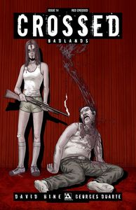 [Crossed: Badlands #14 (Red Crossed Variant) (Product Image)]