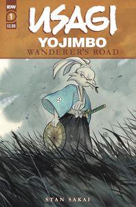 [Usagi Yojimbo: Wanderers Road #1 (Peach Momoko Cover) (Product Image)]