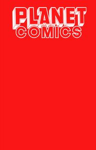 [Planet Comics: Sketchbook (One Shot) (Red Giant Edition) (Product Image)]