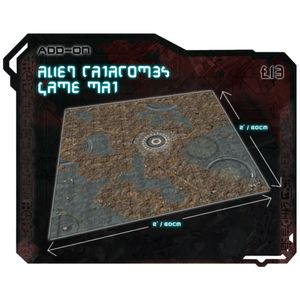 [Core Space: First Born: Alien Catacombs: Gaming Mat (Product Image)]