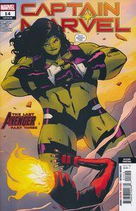 [Captain Marvel #14 (2nd Printing Garbett Variant) (Product Image)]
