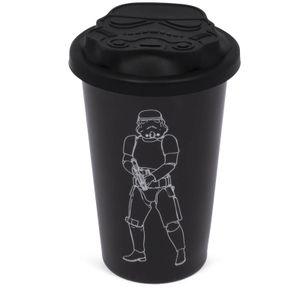 [Star Wars: Travel Mug: Stormtrooper Black (Product Image)]