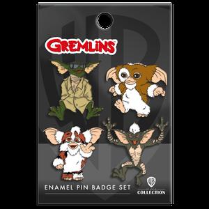 [Gremlins: Enamel Pin Badge Set: Gizmo & Friends (Product Image)]