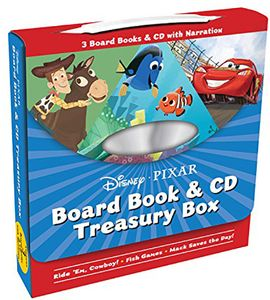 [Disney/Pixar: Board Book & CD Treasury Box (Product Image)]