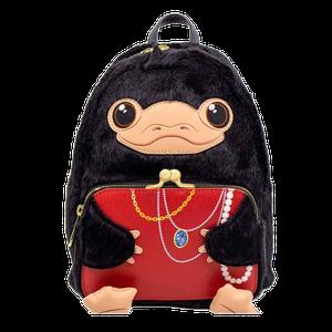 [Fantastic Beasts: Loungefly Mini Backpack: Niffler Plush Cosplay (Product Image)]