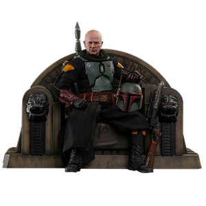 [Star Wars: The Mandalorian: Hot Toys Action Figure: Boba Fett Repaint Armour & Throne (Product Image)]