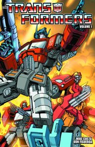 [Transformers: Ongoing: Volume 1: For All Mankind (Product Image)]