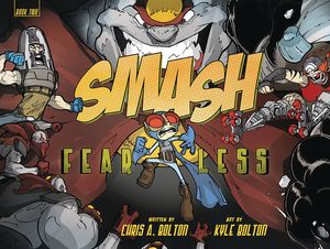 [Smash: Volume 2: Fearless (Hardcover) (Product Image)]